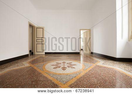Inerior house, empty room