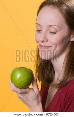 Woman With Apple-02