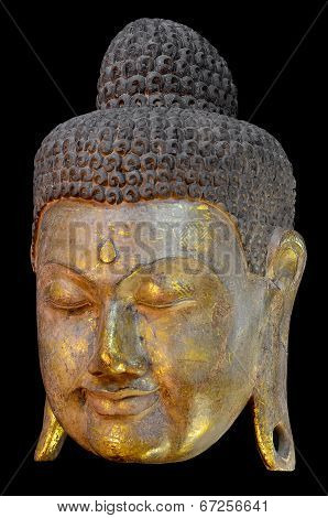 Golden Buddha Mask.