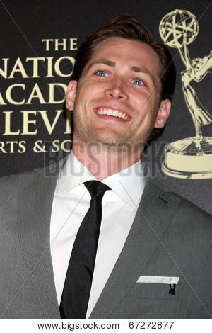 LOS ANGELES - JUN 22:  Adam Gregory at the 2014 Daytime Emmy Awards Arrivals at the Beverly Hilton Hotel on June 22, 2014 in Beverly Hills, CA