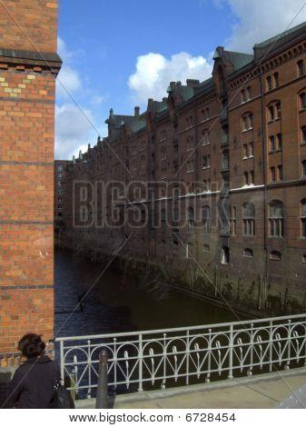 Hamburg warehouse district (Speicherstadt)