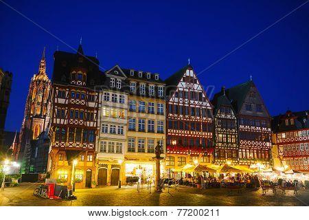 Old Town In Frankfurt Am Maine
