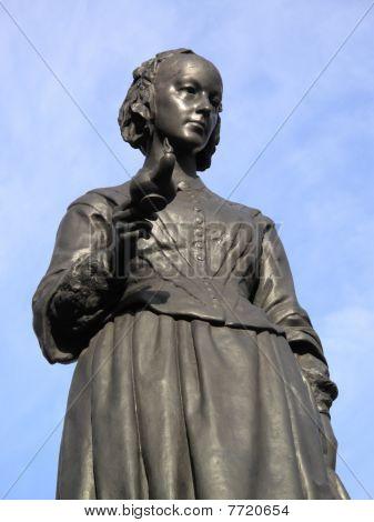 statue of Florence Nightingale 1820-1910