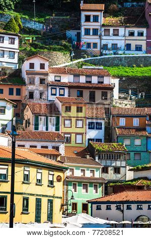 Cudillero, Fishing Village In Asturias (spain)