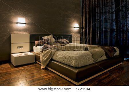 Luxus Schlafzimmer interior