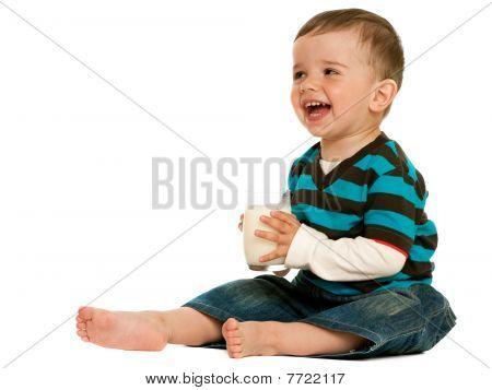 Drinking Milk Toddler