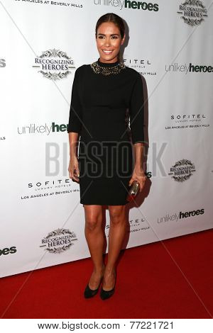 LOS ANGELES - NOV 8:  Daniella Alonso at the 3rd Annual Unlikely Heroes Awards Dinner And Gala at the Sofitel Hotel on November 8, 2014 in Beverly Hills, CA