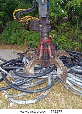 Underground cable collection