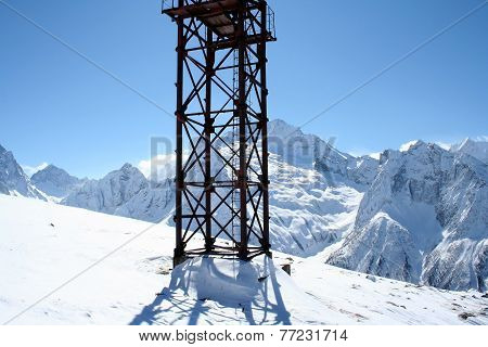 Measuring Tower