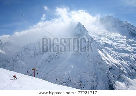 Mountains Shroud Clouds