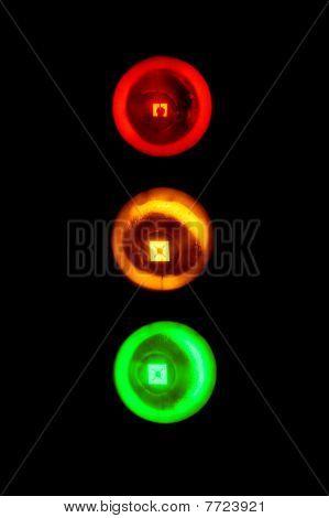 Traffic Lights Bright