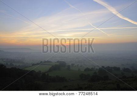Sunset Over Berkeley Vale