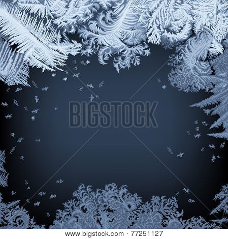 Frosty Window - background
