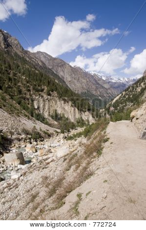 Valley of Bhagirathi river