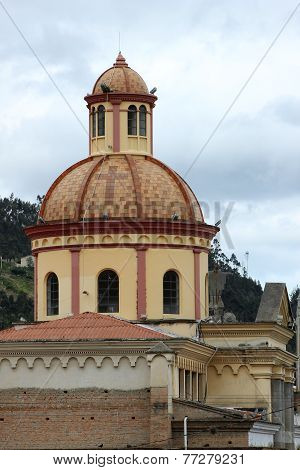 Church Dome in Otavalo