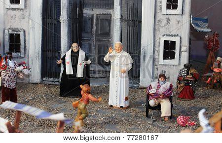 Pope Bergoglio Francis The First Miniature