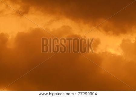 Clouds During Sandstorm