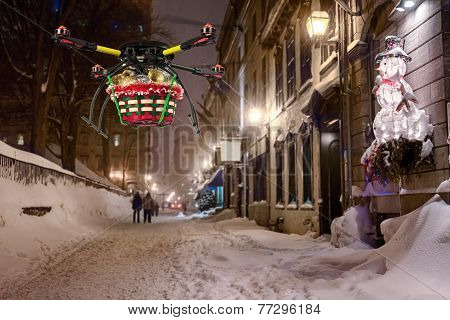 Aerial Christmas Delivery 3