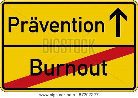 Burnout and prevention