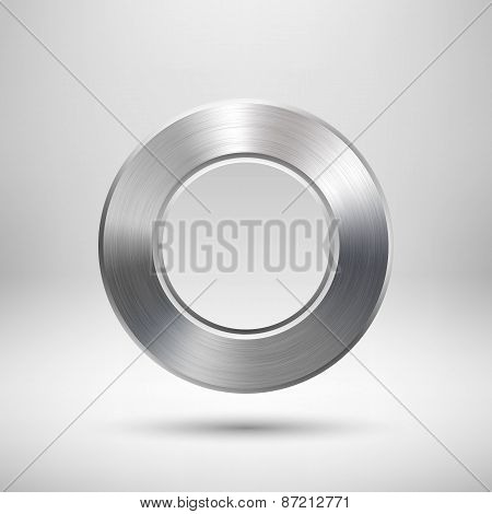 Abstract Circle Button Template
