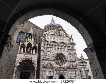 Colleoni chapel, Citta Alta Bergamo, Lombardy, Italy