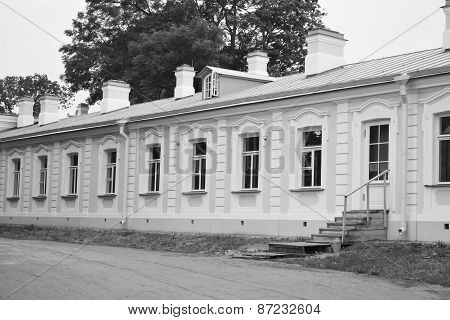 Outbuilding Of Big Menshikovsky Palace In Oranienbaum.