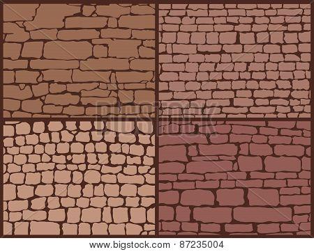 Stone masonry set