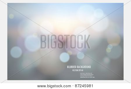 Abstract Colorful Blurred Background, Vector Illustrator Desige Wallpaper,blur Bokeh Light Backgroun