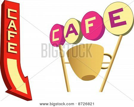 Cafe Signs