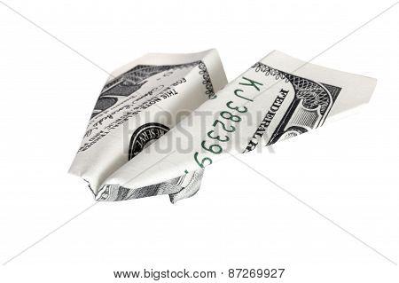 Business Concept. Money Plane
