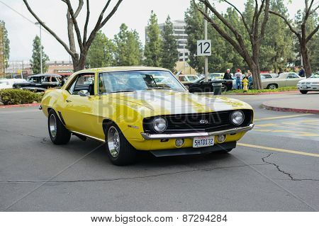 Chevrolet Ss Camaro  Classic Car On Display
