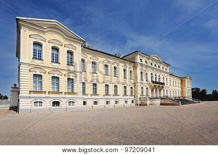 Baroque Palace Rundale In Latvia
