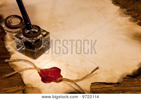 Wax Seal And Ink