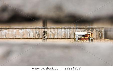 View Through Berlin Wall