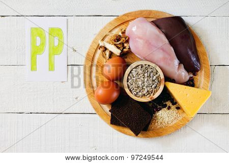 Foods Containing Vitamin Pp