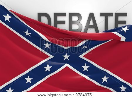 Debate over display of the southern rebel Confederate National Flag