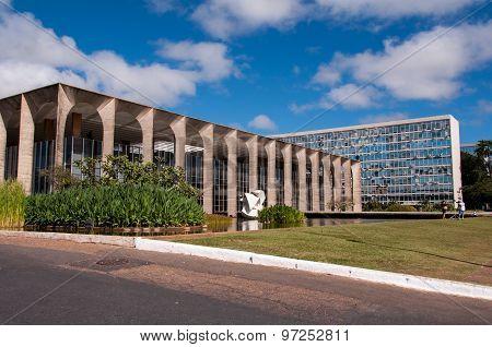 Itamaraty Palace in Brasilia
