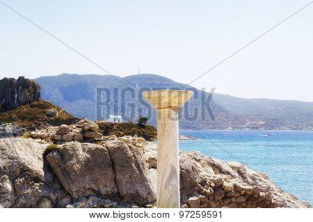Kastri small island near Kefalos village