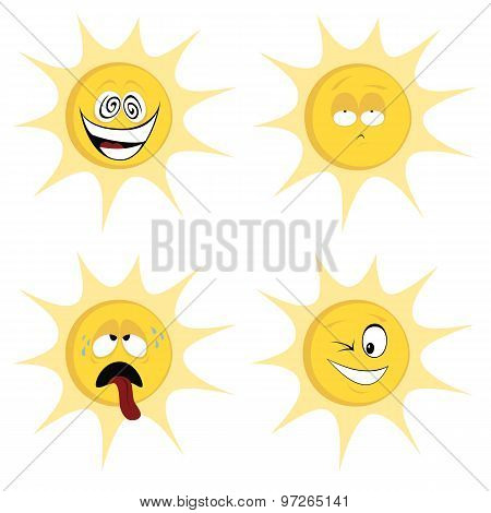 Summer Sun Mascots