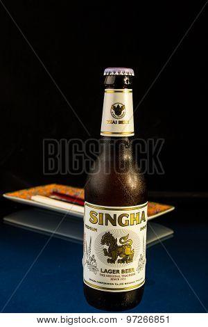 Singha Lager Beer - The Original Thai Beer