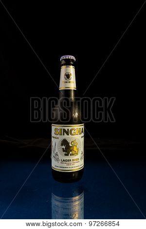 Thailand Beer In Bottle