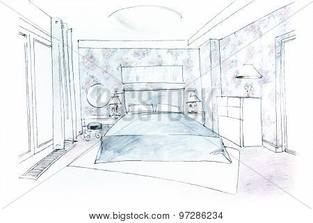 Freehand Bedroom Picture