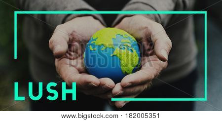 Lush Life Sustainable Environment Concept