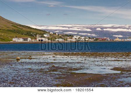 View On Isafjordur Town