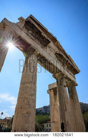 Roman Agora Of Athens, Greece