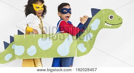 Superhero Kid Bold Brave Female Idol Concept