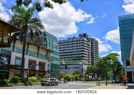 Buildings In Manila, Philippines