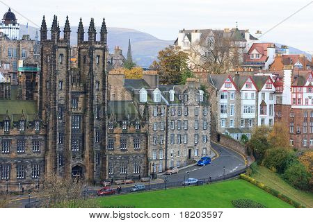 Edinburgh House Facades