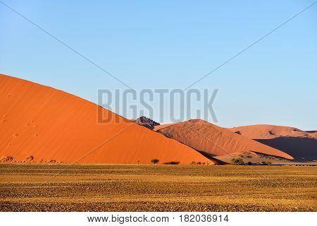Sossusvlei, Namib Naukluft National Park, Namibia
