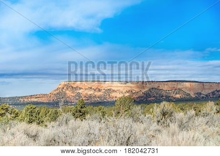 Utah rural scenic view Utah mountains landscape USA America